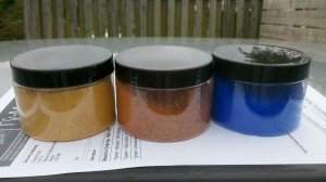 Clay Paint Pigments
